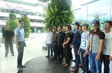 春节前众多越南渔民获印尼释放