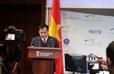 越南驻乌克兰大使同基辅市长交谈