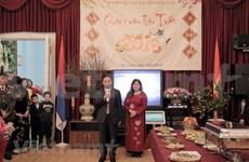 旅居俄罗斯和柬埔寨越南人过年的温馨气氛
