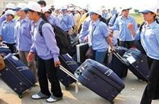 2018年越南提出劳务输出人数达11万人的目标