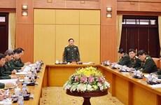 吴春历大将走访越南人民军总政治局和总后勤局