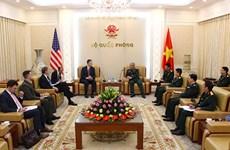 美国驻越南大使:美方希望加强对越南的防务合作