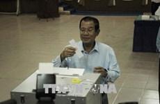 柬埔寨第四届参议院选举今日上午举行