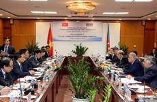 越南与阿塞拜疆加强合作