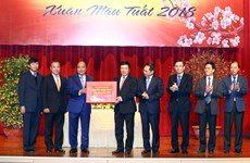 阮春福总理:外交部需为促进和推动经济和贸易活动发展做出不懈努力