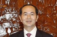 国家主席陈大光:印度是越南十大贸易伙伴之一