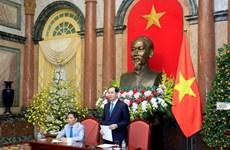 国家主席陈大光:以越南企业和商品的成功为行动指南针