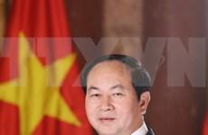 越南国家主席陈大光:国防安全合作是越印颇有成效的领域