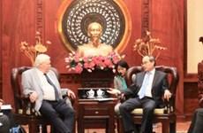 胡志明市加强与德国各大学的合作