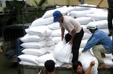 韩国政府为越南中部灾区提供1万吨大米援助