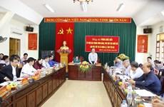 国会副主席冯国显赴安沛省义路市(县级)进行调研