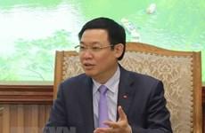 政府副总理王廷惠会见世界经济论坛亚太区主管贾斯汀·伍德
