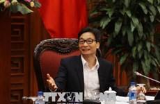 武德儋副总理:确定对每个部委、行业、地方的具体任务分配
