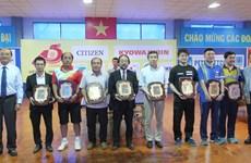 越日举行乒乓球交流赛 增进两国民间交往