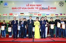 2018年HDBank国际象棋比赛吸引271名选手参加