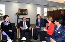 越南政府总理阮春福抵达奥克兰 开始访问新西兰