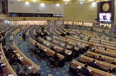 泰国通过上议院和下议院选举法草案
