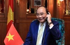 越南政府总理阮春福与新西兰总督通电话