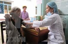 """""""越南项目""""基金会为广治省2500名贫困者免费看病送药"""