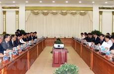 越南胡志明市与柬埔寨金边市加强合作