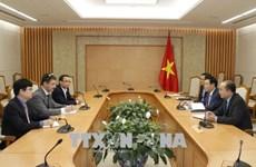 越南政府副总理王廷惠:政府一向重视专家在宏观经济调控方面的意见