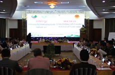 广治省与老挝沙湾拿吉省加强贸易合作