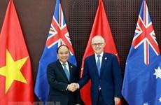 政府总理阮春福访澳之行:提升越南在国际舞台上的地位