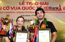 HDBank国际象棋公开赛圆满收官