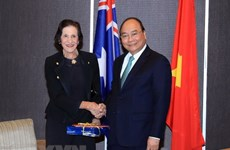 政府总理阮春福会见新南威尔士州领导