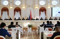 纪念胡伯伯踏上彼得格勒95周年研讨会在俄罗斯举行