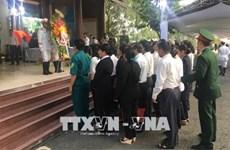 潘文凯逝世 广大当地居民来到其私宅悼念
