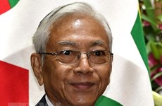 缅甸总统吴廷觉  众议院议长吴温敏辞职
