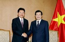越南政府副总理郑廷勇:鼓励越韩深化农业合作
