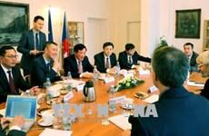 越南最高人民法院院长阮和平访问捷克
