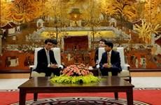 河内市与中国香港促进经济交流与投资合作