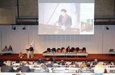 越南国会主席在议联第138届大会全体会议上发表重要演讲