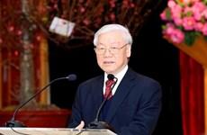 越共中央总书记阮富仲:越法关系美好前景