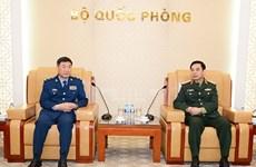越南与中美两国加强防务合作