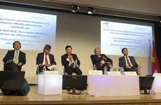 法国企业与越南政府和各部门领导沟通交流