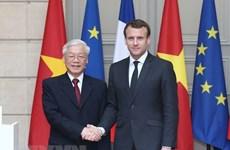 法国媒体积极评价阮富仲总书记访法之旅