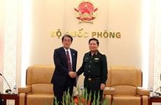 加强越南与日本、蒙古和墨西哥的防务合作