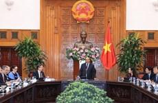 政府总理阮春福会见美国—东盟商务理事会代表团