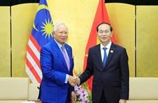 越南领导向马来西亚领导致贺信 庆祝两国建交45周年