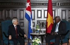 阮富仲总书记会见古巴议会主席