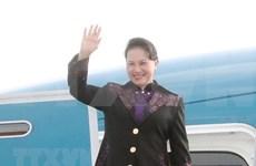 国会主席阮氏金银圆满结束各国议会联盟第138届大会活动和荷兰访问之旅活动