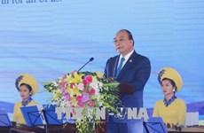 越南政府总理阮春福和夫人主持GMS6 - CLV10招待会