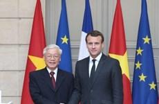 越共中央总书记阮富仲圆满结束访问法国和古巴两国之行