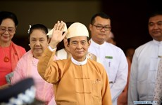 吴温敏成为缅甸第十任总统