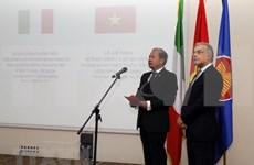意大利是越南在欧洲和世界上的重要伙伴