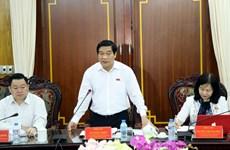 越南国会民族委员会赴北件省调研